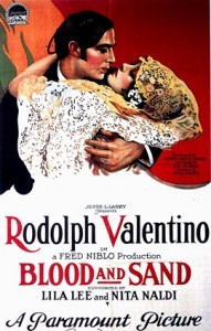 Blood and Sand Movie Poster (pre 1923 posters are public domain)