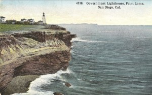 Government Lighthouse, Point Loma, San Diego, Cal.