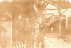"Ben, Lloyd, Mitchel - Made in San Pedro Cal.  ""We were working in the shipyard"""