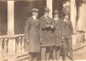 In Winston at Rooming House L to R: Lloyd B Smith Jr, Benn Tuttle, Denton & Dood Bush