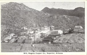 Mil, Magna Copper Co., Superior, Arizona