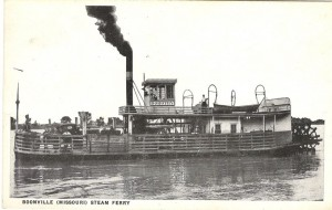 Boonville Steam Ferry