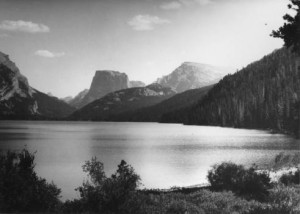 Used by permission, Utah State Historical Society Title:  Green River Lake (Wyo.) p.2 Photo #:   2197  (no collection)