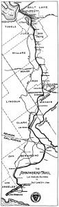 Arrow Head Trail (public domain picture)