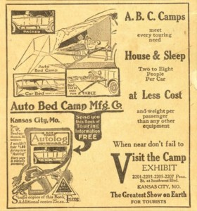 The Camp Bed. This is what they had.  See page the Tennessee  page to see a picture of theirs.