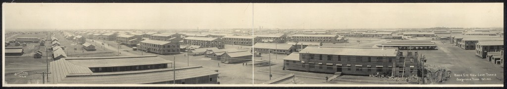 Camp Travis (no known restrictions on use Library of Congress)