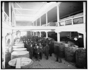 Kentucky Tobacco Market Courtesy of the Library of Congress