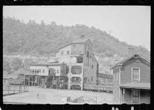 Old Kentucky coal Mine Courtesy of Library of Congress