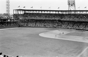 Sportsman's Field in St Louis  - Where the St Louis Browns played