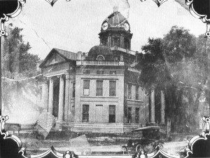 Purvis Mississippi Courthouse and Jail (assume public domain as it is in Pinterest multiple times)