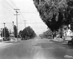 Sunset Blvd in 1922 courtesy of Water and Power