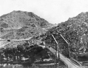 Victorville Bridge over the Mojave River (assume public domain as it is in Pinterest multiple times)