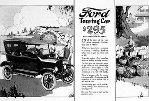 Model T ad from the '20s imgarcade.com