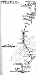 1915 Borderland Route guide by Harry Locke