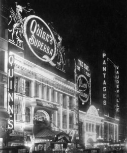 3 Theaters in the Los Angles area  during the early 1920s courtesy of Water and Power