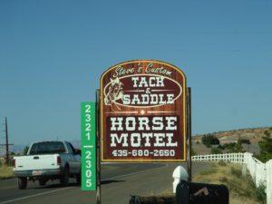 Horse hotel.