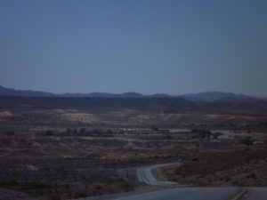 the long flat road ahead