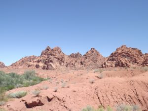the fire valley rocks