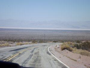 more flat road