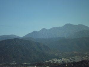 coming into San Bernardino