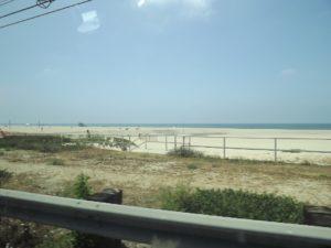 more flat beach