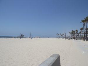 Long Beach. Long flat beach