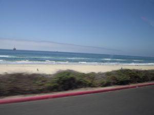 beach along the coast