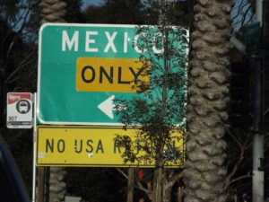 Mexico only. we didn't go there