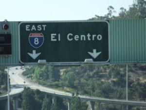 heading east