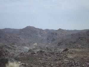 Piles of rocks, big piles of rocks