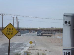 back at the border