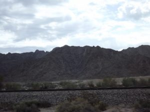 mountains outside of Yuma