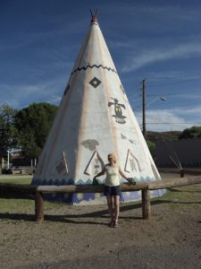 Giant TeePee in Globe