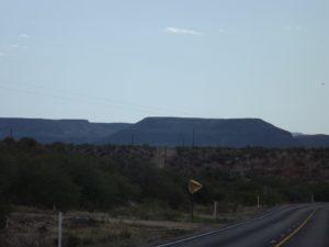 Mesa outside of globe