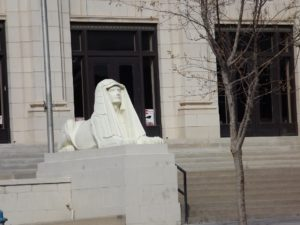 Nun Sphinx in El Paso