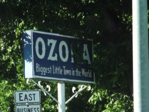 Ozona - Biggest Little town in the world