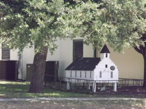 little tiny church