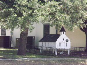 little tiny church