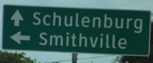 We didn't head to Smithville