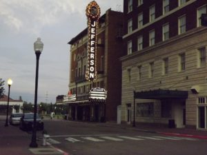 Cool old theater in downtown Beaumont