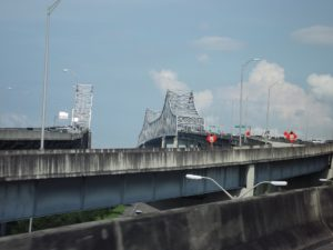 our bridge into New Orleans