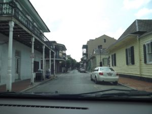 French Quarter area