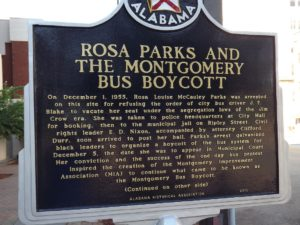 where Rosa Parks got arrested