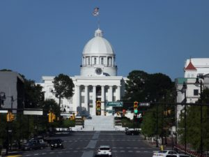 The Alabama capital