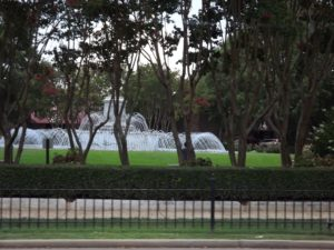 many of the towns here have squares and fountains in them.