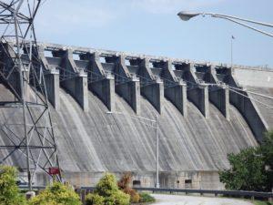 The dam picture