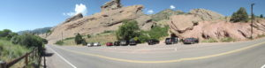 Red Rocks panoramic