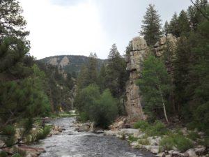 going into Big Thompson Canyon