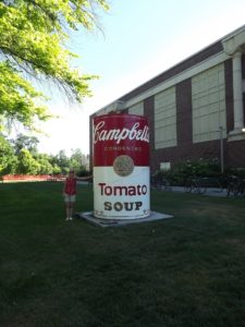 giant Campbell soup can