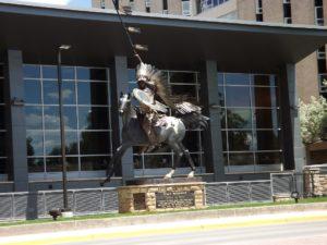 statue in Laramie